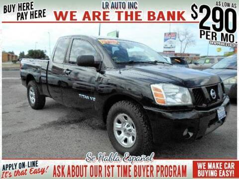 2006 Nissan Titan for sale at LR AUTO INC in Santa Ana CA