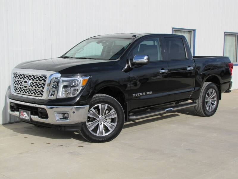 2019 Nissan Titan for sale at Lyman Auto in Griswold IA