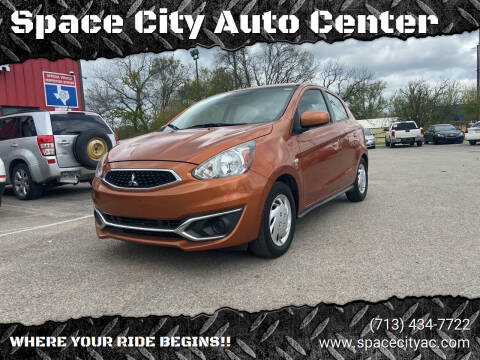 2017 Mitsubishi Mirage for sale at Space City Auto Center in Houston TX