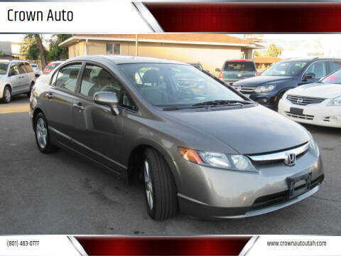 2008 Honda Civic for sale at Crown Auto in South Salt Lake City UT