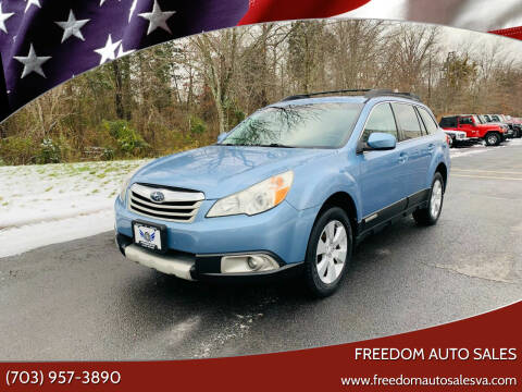 2011 Subaru Outback for sale at Freedom Auto Sales in Chantilly VA