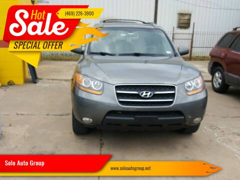 2009 Hyundai Santa Fe for sale at Solo Auto Group in Mckinney TX