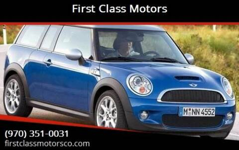 2008 MINI Cooper Clubman for sale at First Class Motors in Greeley CO