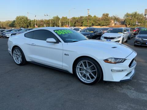 2019 Ford Mustang for sale at Blue Diamond Auto Sales in Ceres CA