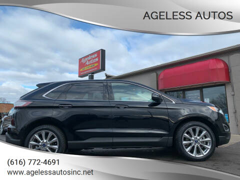 2018 Ford Edge for sale at Ageless Autos in Zeeland MI