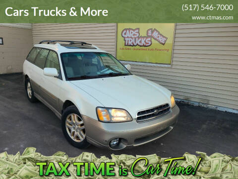 2002 Subaru Outback for sale at Cars Trucks & More in Howell MI