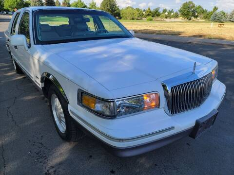 1996 Lincoln Town Car for sale at Red Rock's Autos in Denver CO