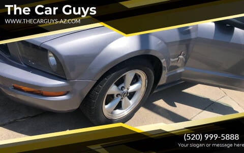 2007 Ford Mustang for sale at The Car Guys in Tucson AZ