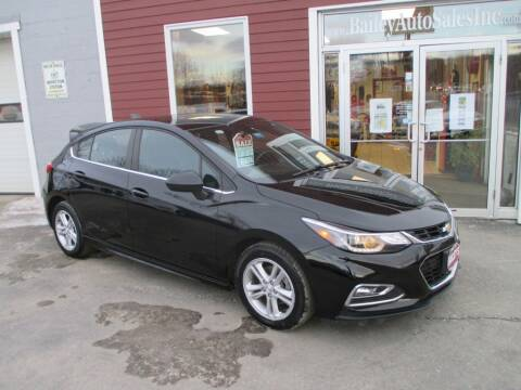 2017 Chevrolet Cruze for sale at Percy Bailey Auto Sales Inc in Gardiner ME