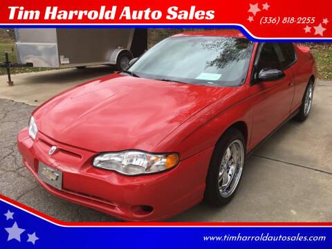 2005 Chevrolet Monte Carlo for sale at Tim Harrold Auto Sales in Wilkesboro NC