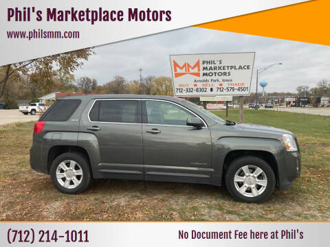 2013 GMC Terrain for sale at Phil's Marketplace Motors in Arnolds Park IA