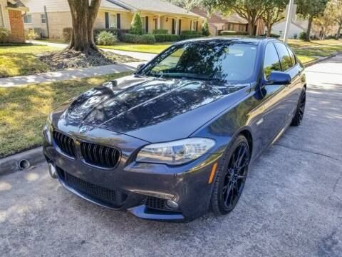 2013 BMW 5 Series for sale at Amazon Autos in Houston TX