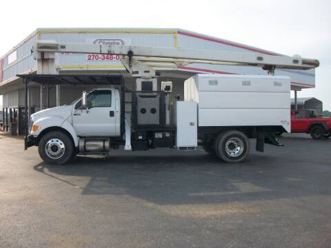 2013 Ford F750 Chipper Elevator Truck for sale at Classics Truck and Equipment Sales in Cadiz KY