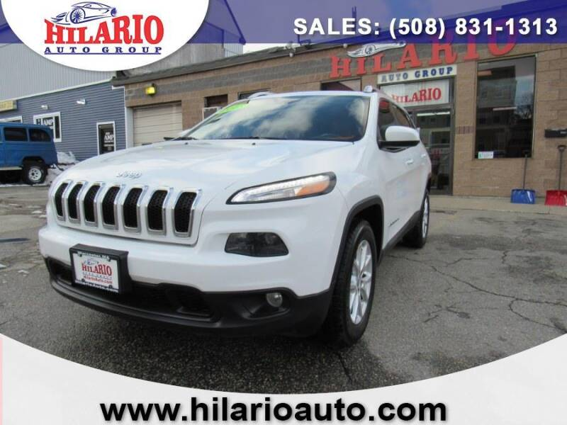 2015 Jeep Cherokee for sale at Hilario's Auto Sales in Worcester MA