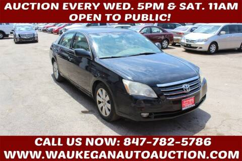 2007 Toyota Avalon for sale at Waukegan Auto Auction in Waukegan IL