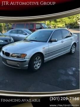 2005 BMW 3 Series for sale at JTR Automotive Group in Cottage City MD