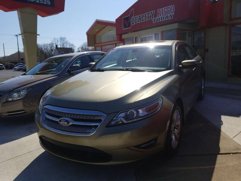 2012 Ford Taurus for sale at Quality Auto Today in Kalamazoo MI