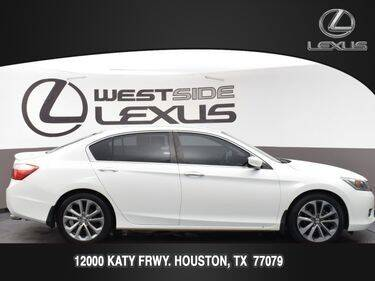2015 Honda Accord for sale at LEXUS in Houston TX