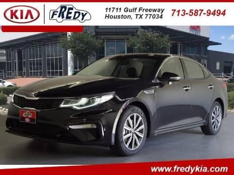 2019 Kia Optima for sale at FREDY KIA USED CARS in Houston TX