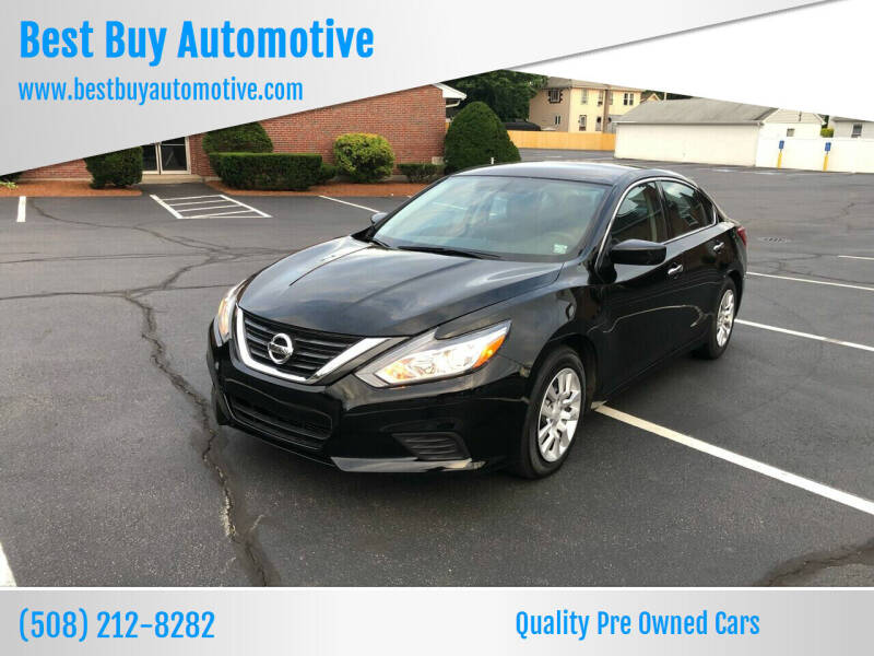 2016 Nissan Altima for sale at Best Buy Automotive in Attleboro MA