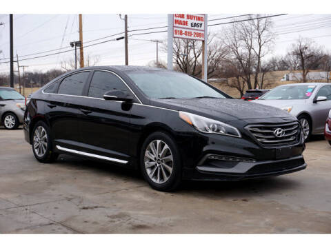 2016 Hyundai Sonata for sale at Sand Springs Auto Source in Sand Springs OK
