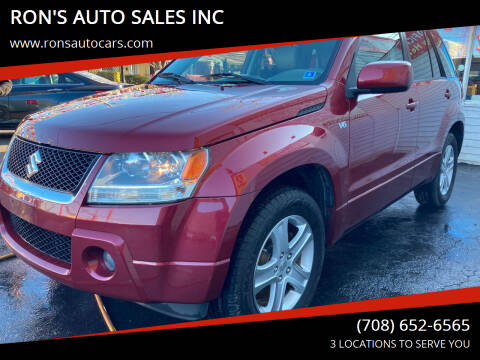 2008 Suzuki Grand Vitara for sale at RON'S AUTO SALES INC in Cicero IL