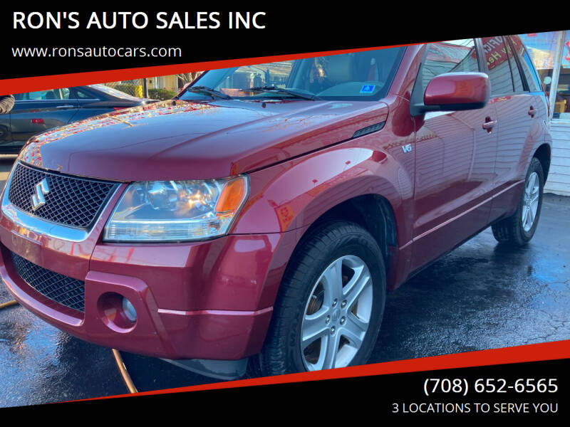 2008 Suzuki Grand Vitara for sale at RON'S AUTO SALES INC in Cicero IL