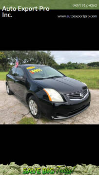 2011 Nissan Sentra for sale at Auto Export Pro Inc. in Orlando FL