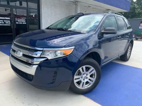 2012 Ford Edge for sale at El Camino Auto Sales in Gainesville GA