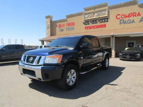 2009 Nissan Titan for sale at Import Motors in Bethany OK