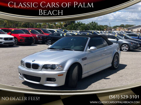 2002 BMW M3 for sale at Classic Cars of Palm Beach in Jupiter FL