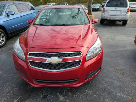 2013 Chevrolet Malibu for sale at All State Auto Sales, INC in Kentwood MI