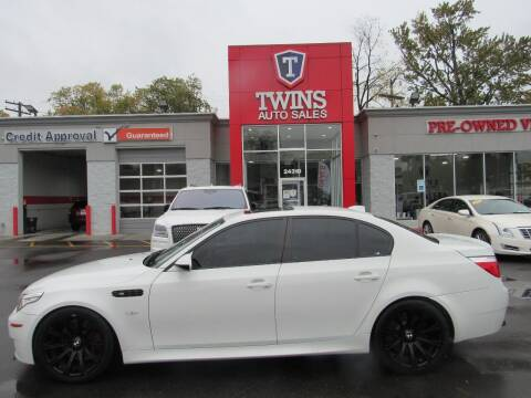 2009 BMW M5 for sale at Twins Auto Sales Inc - Detroit in Detroit MI