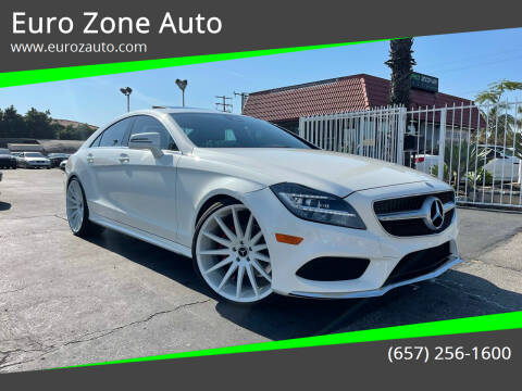 2016 Mercedes-Benz CLS for sale at Euro Zone Auto in Stanton CA