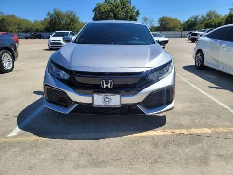 2018 Honda Civic for sale at JJ Auto Sales LLC in Haltom City TX
