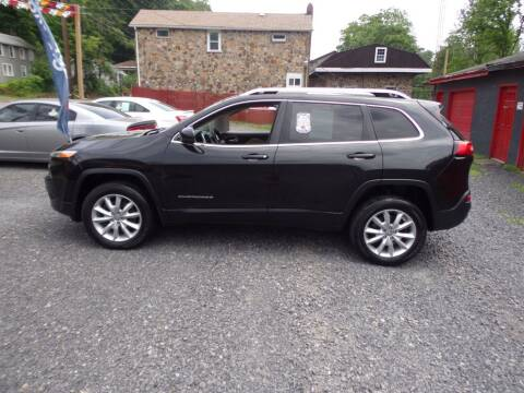 2015 Jeep Cherokee for sale at RJ McGlynn Auto Exchange in West Nanticoke PA