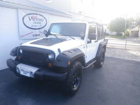 2008 Jeep Wrangler for sale at VICTORY AUTO in Lewistown PA