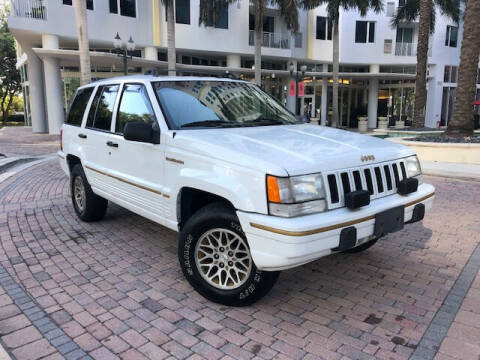1995 Jeep Grand Cherokee for sale at Florida Cool Cars in Fort Lauderdale FL
