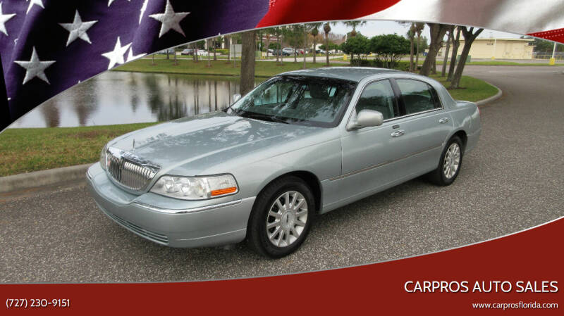 2007 Lincoln Town Car for sale at Carpros Auto Sales in Largo FL