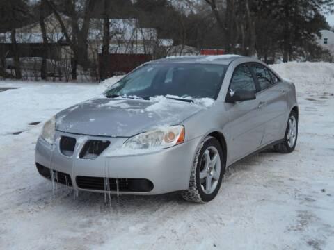 2007 Pontiac G6 for sale at MT MORRIS AUTO SALES INC in Mount Morris MI