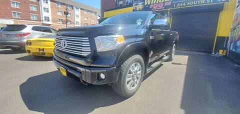 2016 Toyota Tundra for sale at South Street Auto Sales in Newark NJ