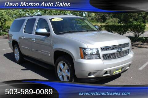 2008 Chevrolet Suburban for sale at Dave Morton Auto Sales in Salem OR