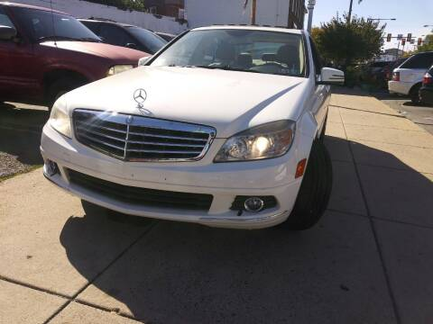 2010 Mercedes-Benz C-Class for sale at K J AUTO SALES in Philadelphia PA