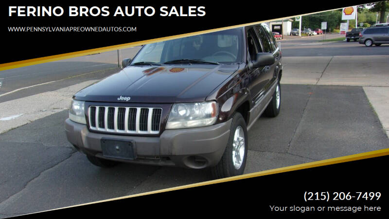 2004 Jeep Grand Cherokee for sale at FERINO BROS AUTO SALES in Wrightstown PA