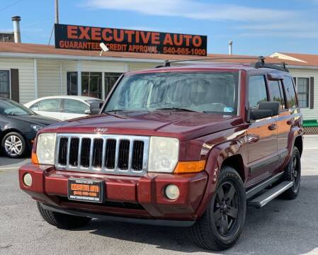 2007 Jeep Commander for sale at Executive Auto in Winchester VA