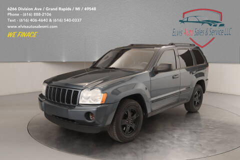 2007 Jeep Grand Cherokee for sale at Elvis Auto Sales LLC in Grand Rapids MI