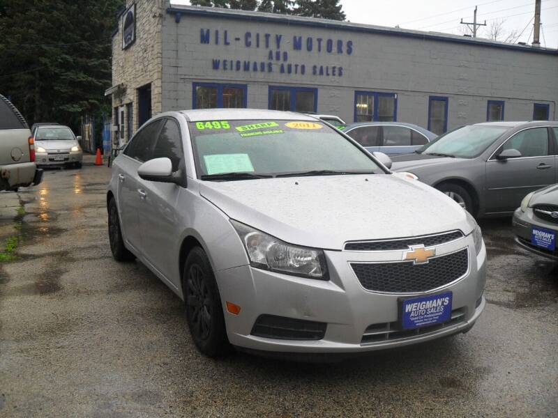 2011 Chevrolet Cruze for sale at Weigman's Auto Sales in Milwaukee WI