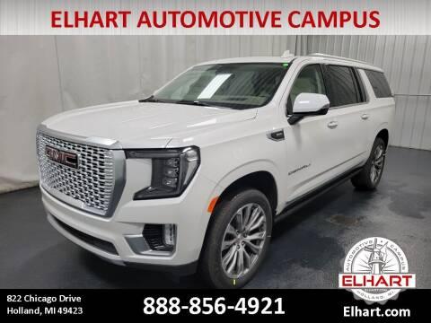 2021 GMC Yukon XL for sale at Elhart Automotive Campus in Holland MI