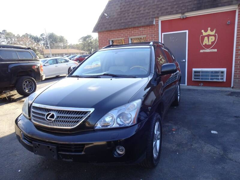 2008 Lexus RX 400h for sale at AP Automotive in Cary NC