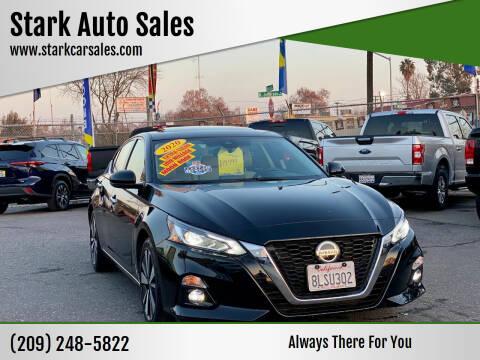 2020 Nissan Altima for sale at Stark Auto Sales in Modesto CA